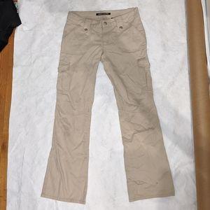DKNY bell bottoms beige